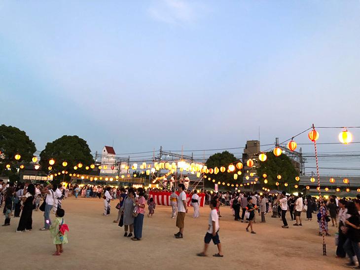 【2019年】8月3日、4日に『御影連合盆踊り』が行われました。